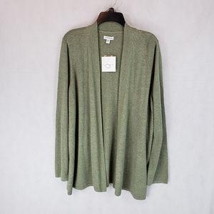 NEW Croft & Barrow Plus XXL Open Cardigan Sweater